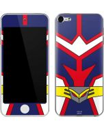 All Might Suit Apple iPod Skin