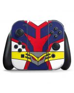 All Might Suit Nintendo Switch Joy Con Controller Skin