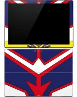 All Might Suit Surface Pro (2017) Skin