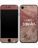 Always Wander iPhone 8 Skin