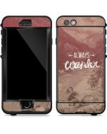 Always Wander LifeProof Nuud iPhone Skin