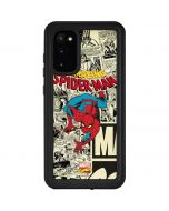 Amazing Spider-Man Comic Galaxy S20 Waterproof Case