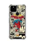 Amazing Spider-Man Comic Google Pixel 5 Clear Case