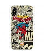 Amazing Spider-Man Comic iPhone XS Max Lite Case