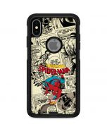 Amazing Spider-Man Comic Otterbox Commuter iPhone Skin