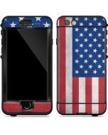 American Flag Distressed LifeProof Nuud iPhone Skin