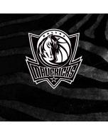 Dallas Mavericks Black Animal Print HP Envy Skin