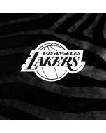 Los Angeles Lakers Black Animal Print iPhone 8 Pro Case