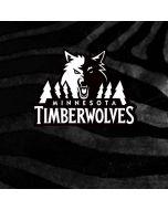 Minnesota Timberwolves Black Animal Print Nintendo GameCube Controller Skin