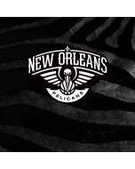 New Orleans Pelicans Black Animal Print HP Envy Skin
