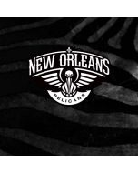 New Orleans Pelicans Black Animal Print Amazon Echo Skin