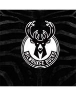 Milwaukee Bucks Animal Print Black PlayStation Classic Bundle Skin