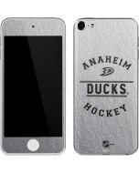 Anaheim Ducks Black Text Apple iPod Skin