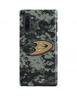 Anaheim Ducks Camo Galaxy Note 10 Pro Case