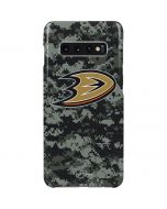 Anaheim Ducks Camo Galaxy S10 Plus Lite Case