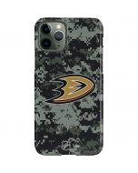 Anaheim Ducks Camo iPhone 11 Pro Lite Case