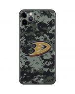 Anaheim Ducks Camo iPhone 11 Pro Max Skin