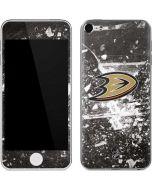 Anaheim Ducks Frozen Apple iPod Skin