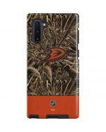 Anaheim Ducks Realtree Max-5 Camo Galaxy Note 10 Pro Case