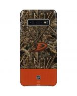 Anaheim Ducks Realtree Max-5 Camo Galaxy S10 Plus Lite Case