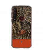 Anaheim Ducks Realtree Max-5 Camo Moto G8 Plus Clear Case