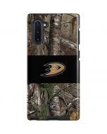 Anaheim Ducks Realtree Xtra Camo Galaxy Note 10 Pro Case