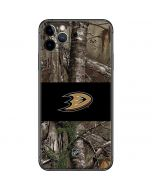Anaheim Ducks Realtree Xtra Camo iPhone 11 Pro Max Skin