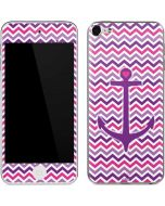 Anchor of Love- Pink Apple iPod Skin
