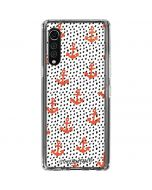 Anchors and Dots LG Velvet Clear Case