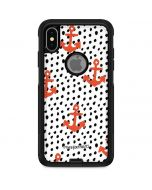 Anchors and Dots Otterbox Commuter iPhone Skin