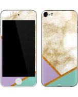 Angled Marble Apple iPod Skin