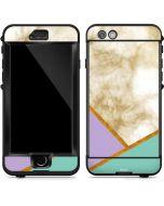 Angled Marble LifeProof Nuud iPhone Skin