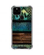 Animal Print Fashion Google Pixel 5 Clear Case