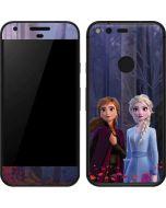 Anna and Elsa Google Pixel Skin