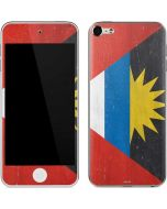 Antigua and Barbuda Flag Distressed Apple iPod Skin