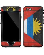 Antigua and Barbuda Flag Distressed LifeProof Nuud iPhone Skin