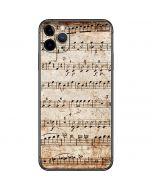 Antique Notes iPhone 11 Pro Max Skin