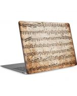 Antique Notes Apple MacBook Air Skin