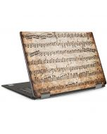 Antique Notes Dell XPS Skin