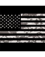 Black and White Camo American Flag LifeProof Nuud iPhone Skin