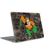 Aquaman Mixed Media Apple MacBook Air Skin