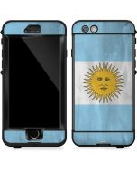 Argentina Flag Distressed LifeProof Nuud iPhone Skin