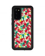 Ariel and Flounder Pattern Galaxy S20 Waterproof Case
