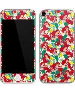 Ariel and Flounder Pattern Apple iPod Skin
