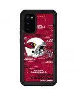 Arizona Cardinals - Blast Galaxy S20 Waterproof Case