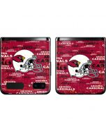 Arizona Cardinals - Blast Galaxy Z Flip Skin