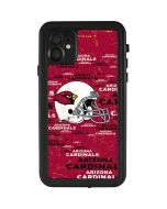 Arizona Cardinals - Blast iPhone 11 Waterproof Case