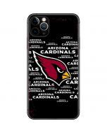 Arizona Cardinals Black Blast iPhone 11 Pro Max Skin
