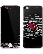 Arizona Cardinals Black Blast Apple iPod Skin