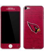 Arizona Cardinals Distressed Apple iPod Skin